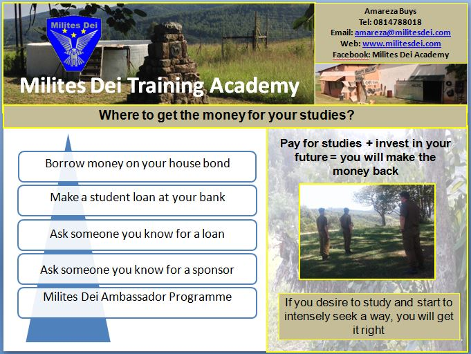 Where to get money for your studies?
