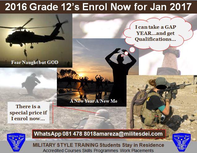 2016 Grade 12's