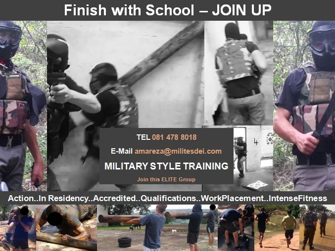 Finish with School - Join Up
