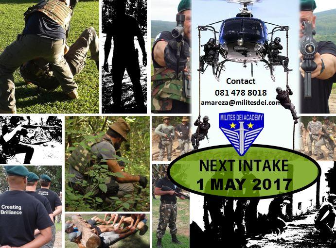 Next Intake 1 May 2017